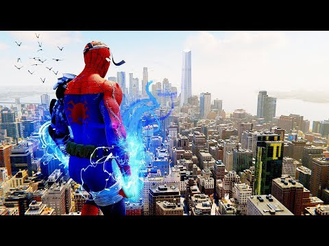 Spider-Man PS4 - Cyborg Spider-Man Suit Epic Combat Stealth & Free Roam Gameplay
