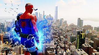 Spider-Man PS4 - Cyborg Spider-Man Suit Epic Combat, Stealth & Free Roam Gameplay