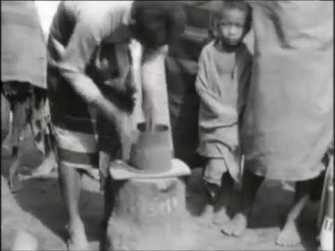 Tangkhul pottery being made att Nungbi Khunou village films by Graham Bower Ursula 14 2 1939