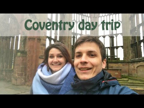 This Is Coventry: The Transport Museum, Cathedral Ruins and City Streets | DJI OSMO