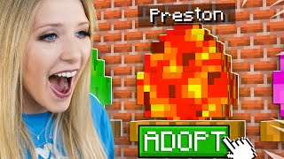 So I Adopted PrestonPlayz in Minecraft...