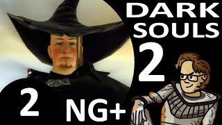 Let's Play Dark Souls 2 New Game Plus Part 2 - Anastacia of Astora? Grave of Saints (Hex, Blind)