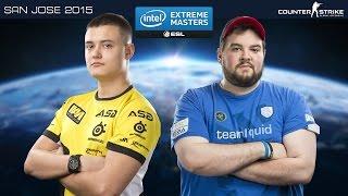 CS:GO - Natus Vincere vs. Team Liquid [Dust 2] - IEM 2015 San Jose - Semifinal Map 2