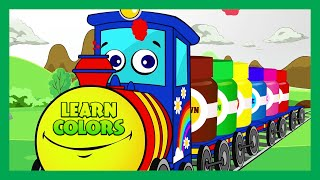 Learn Colors for Children - Learn ABC for Preschool | KIDS HUT