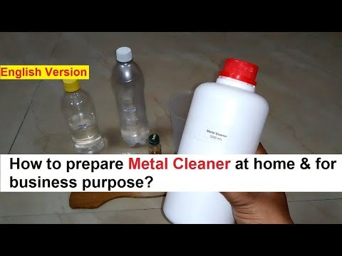 Metal Cleaner Making 100% Real Formula