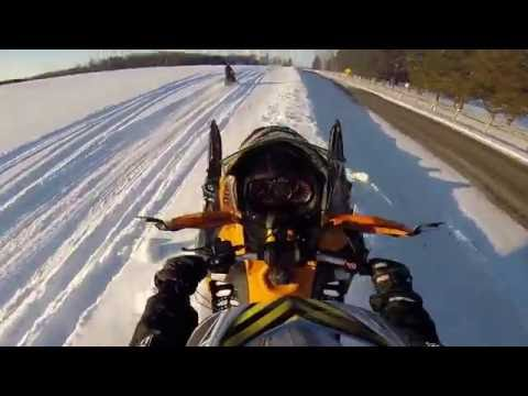 Snowmobiling in Northeast Ohio