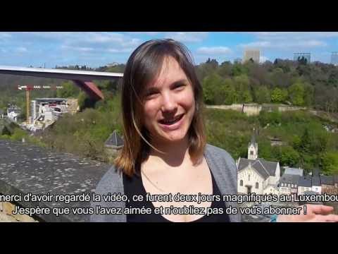 Travel vlog: Touchdown in Luxembourg