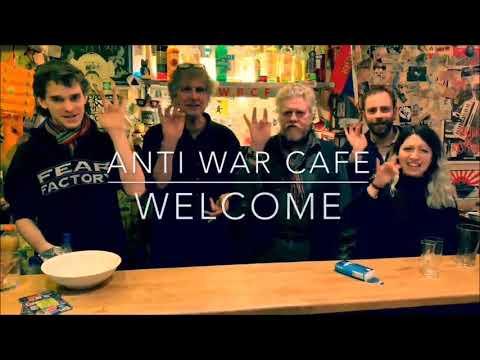 #Antiwar Cafe #Berlin - Welcome!