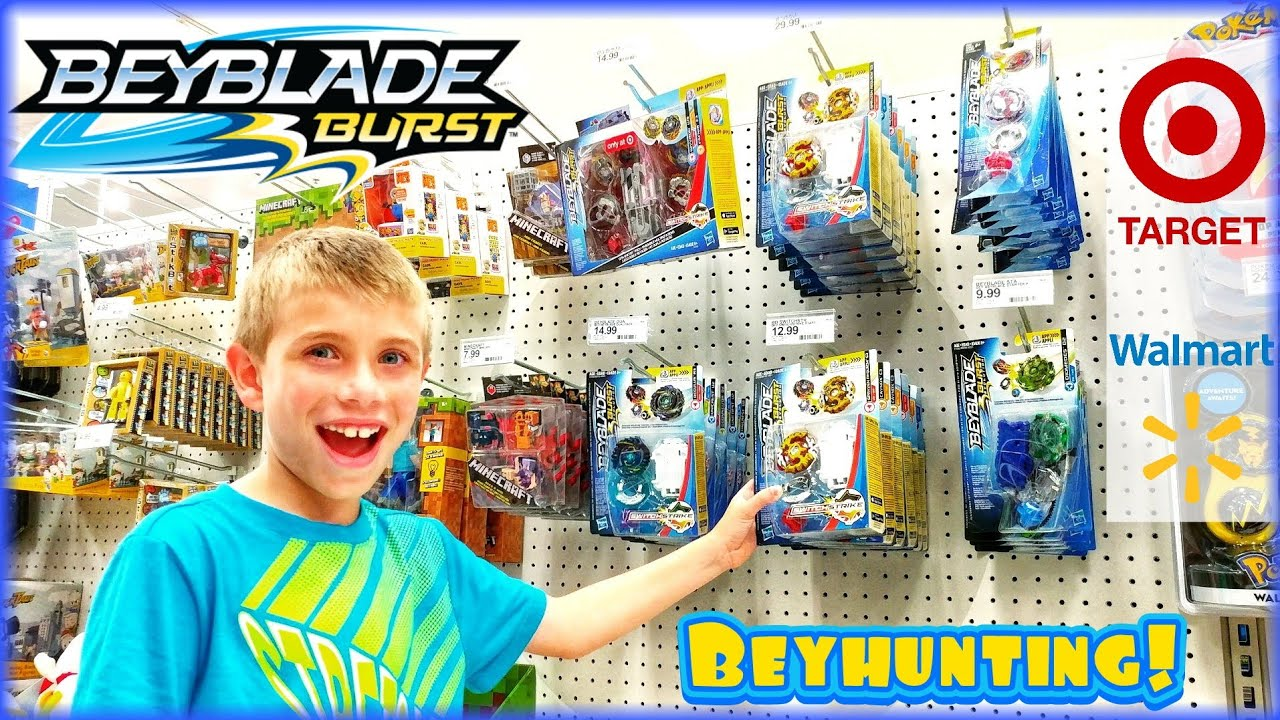 Beyblade Burst Toy Hunting at Target and Walmart for Hasbro Wave 5  SwitchStrike Beys - BEYHUNTING