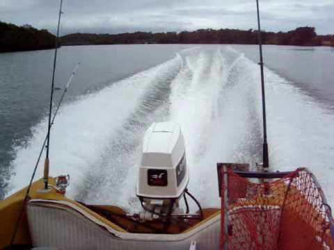 Johnson 70hp outboard top speed test