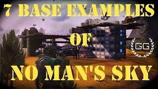7 Base Examples for Builders - No Man's Sky