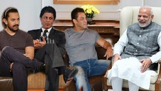 Salman, Shahrukh and Aamir Meet Narendra Modi For Develop Bollywood Industry | Best Moments Ever