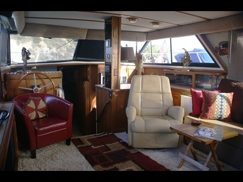 Carver 42 Aft Cabin Motor Yacht Interior Walk Thru Video