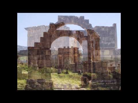 Roman ruins in DJEMILA  ALGERIA