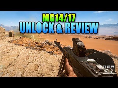 Parabellum MG14 Fastest Killer! Unlock & Review | Battlefield 1