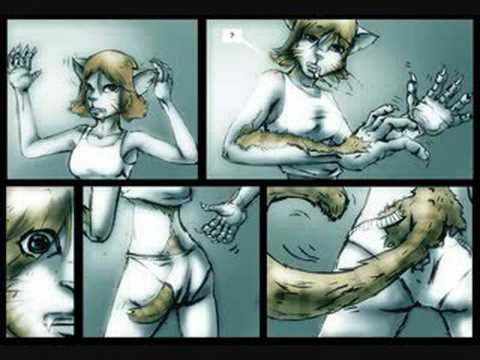 animal transformation comics