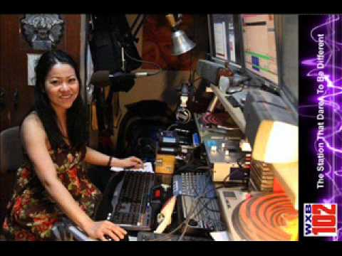 WXB102 UStream greeting from DJ Lena recorded live from New Castle, North England