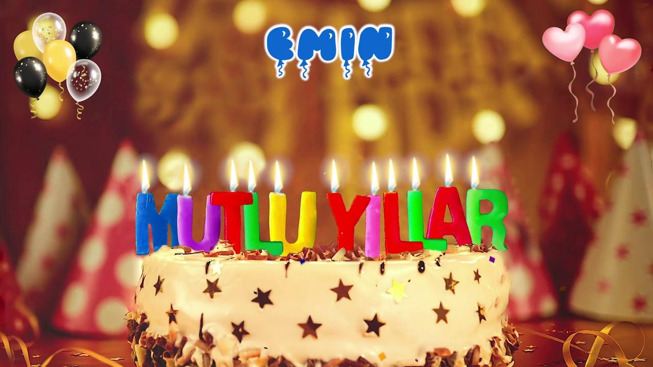 İyi ki doğdun EMİN doğum günün kutlu olsun, Mutlu Yıllar Emin, İsme Özel Doğum Günü Şarkısı