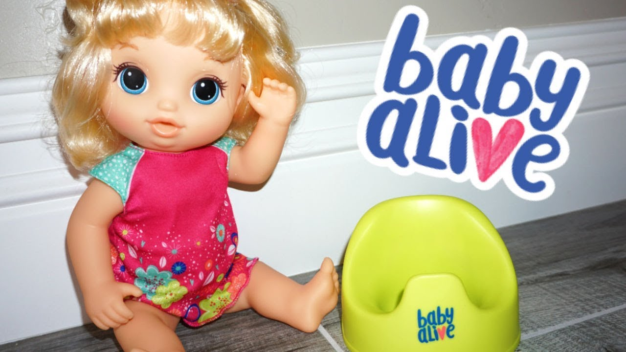 07ee8b6c590 NEW 2018 BABY ALIVE Potty Dance Doll Review! - YouTube