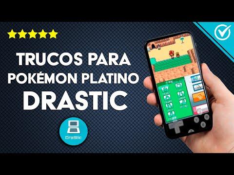 Trucos para Pokémon Platino para Drastic ¡Disfrútalos!