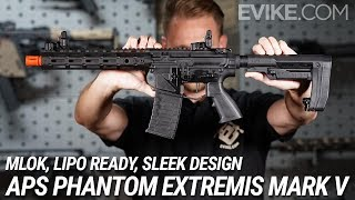 MLOK, LIPO READY, SLEEK DESIGN - APS Phantom Extremis MK V