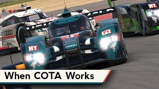iRacing : When COTA Works As Intended... [VR] (LMP1s @ COTA)