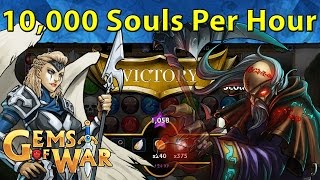 Gems of War: How to Farm OVER 9,000!!! Souls Per Hour