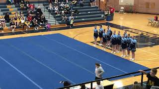 2018 Hi-liner cheer competition routine