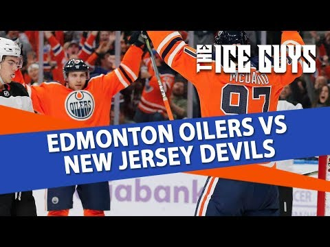 Edmonton Oilers at New Jersey Devils | The Ice Guys | NHL Picks