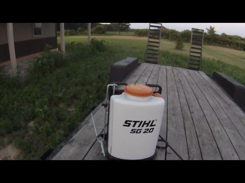 Stihl SG 20 Sprayer