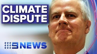 Political row ignites over bushfire climate change comments | Nine News Australia