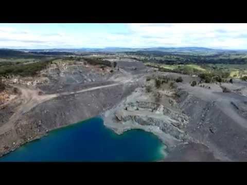 ASBESTOS Mine Barraba Flyover 19th.Sept.2016