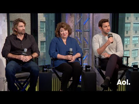 "John Krasinski, Margo Martindale and Sharlto Copley On ""The Hollars"" | BUILD Series"