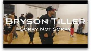 BRYSON TILLER - Sorry Not Sorry Choreography | by Mikey DellaVella | @brysontiller