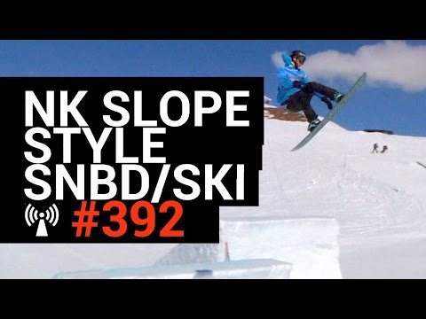 NK Snowboard en Freestyle Ski 2017 - Slopestyle - IBOARCAST #392