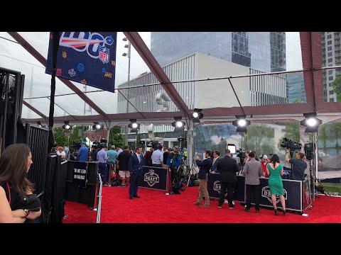 2019 NFL Draft Nashville Zennie62 Live From Red Carpet