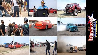 Amarillo Truck invasion 2020 West Texas gets too hot and starts big fights at a big truck show!