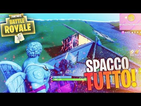 SPACCHIAMO TUTTO! Fortnite Battle Royale ITA!