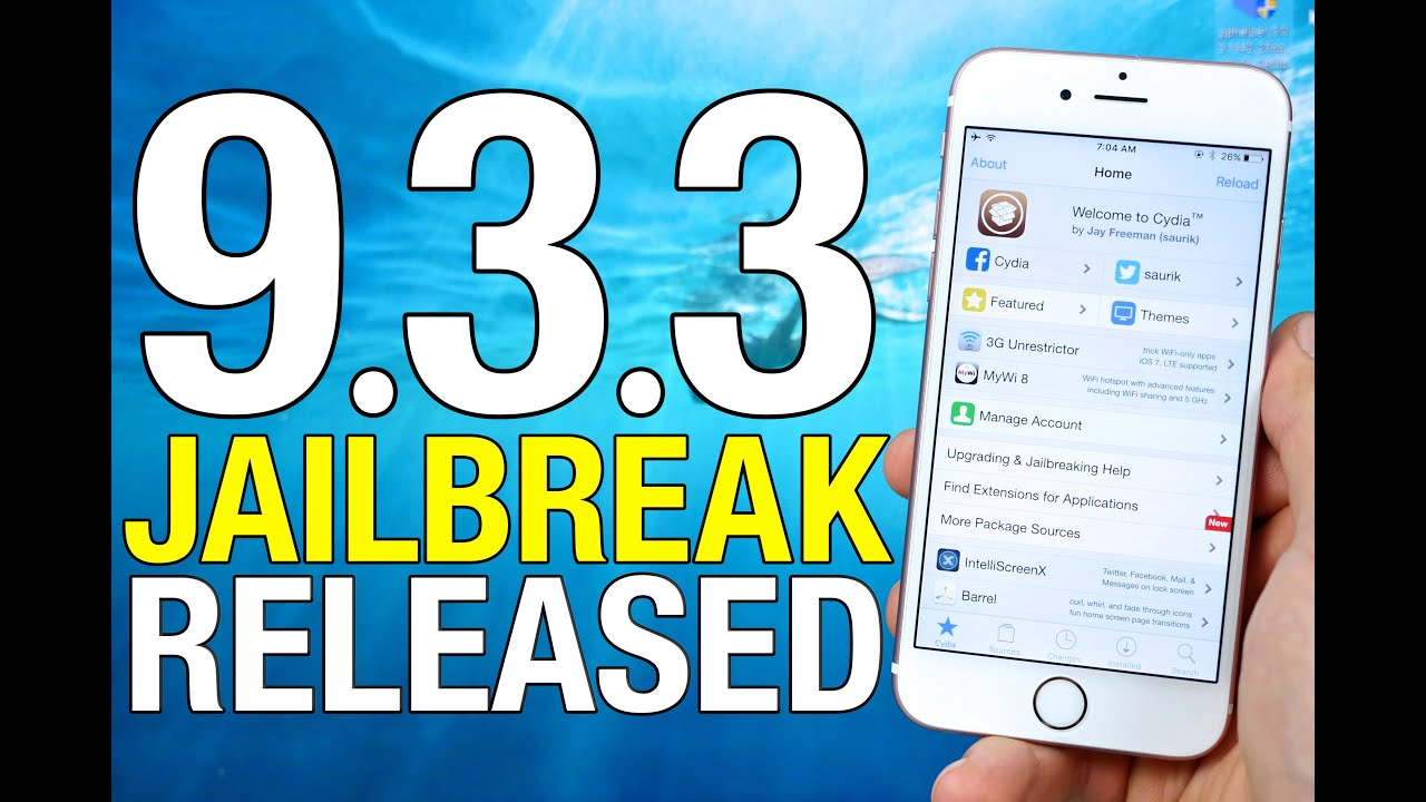 How To Jailbreak iOS 9.3.3 - Pangu Jailbreak RELEASED! - YouTube