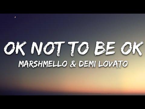 Marshmello Demi Lovato - Ok Not To Be Ok Lost Stories Remix