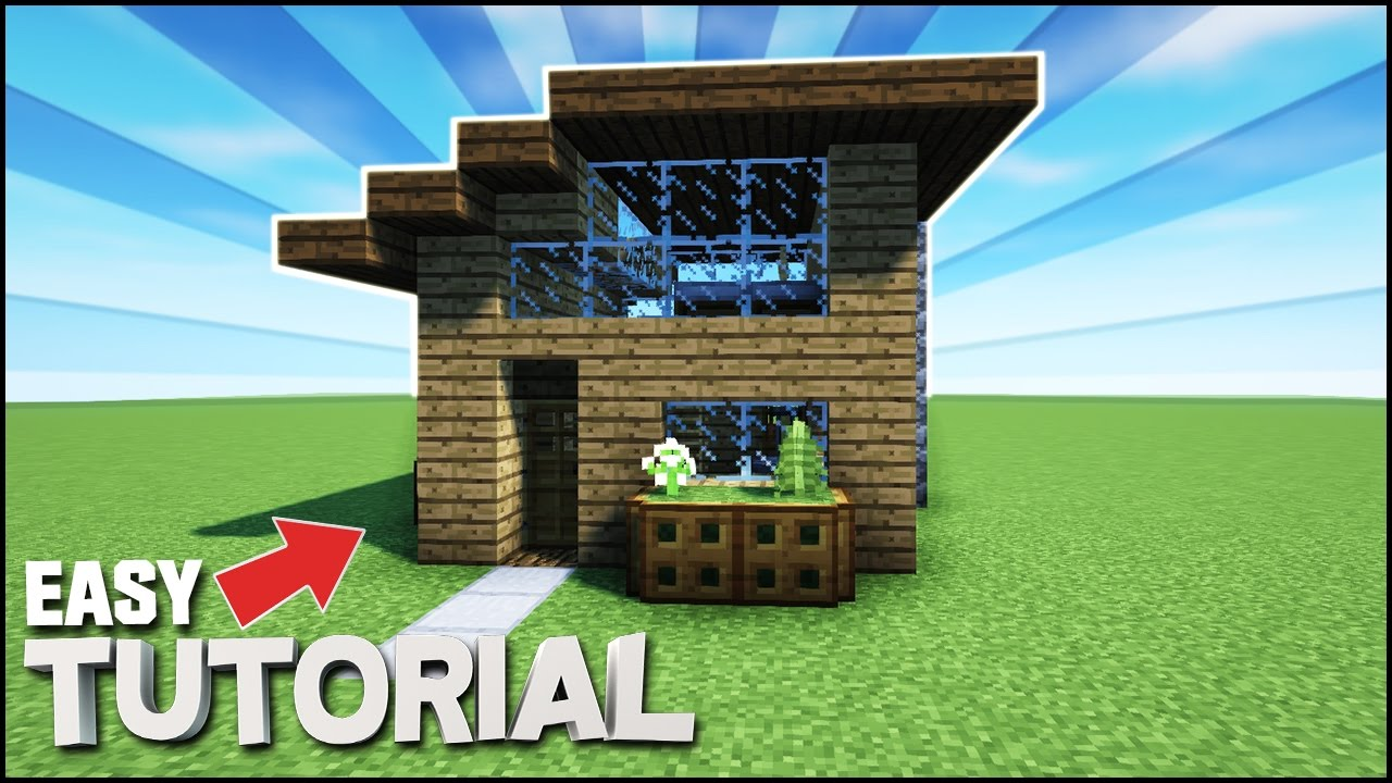 Minecraft how to build a small survival starter house