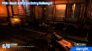 DOOM 3 BFG Edition - All PDA Locations - Lost Mission (Lost Collector Trophy / Achievement)