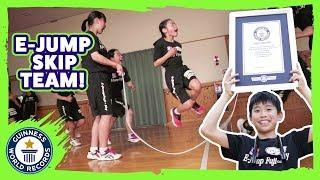 E-Jump Fuji: Team Skipping Champions - Meet The Record Breakers Japan