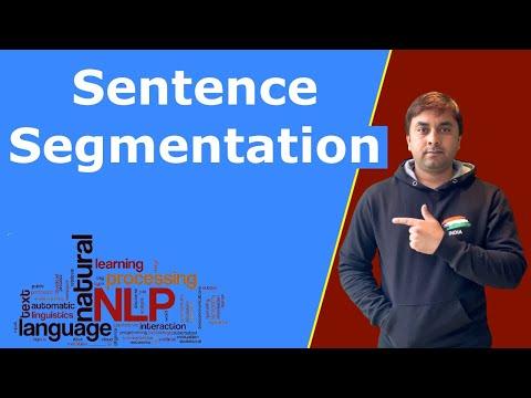 Sentence Segmentation || natural language processing pipeline Step I ||