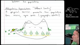 ap biology evolution lesson 5 allopatric and sympatric speciation