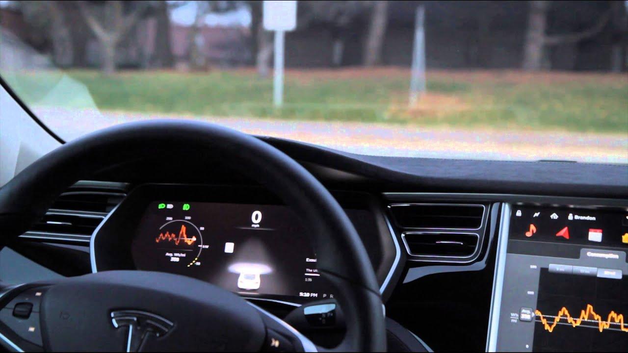Tesla adaptive cruise control