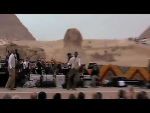 "Smithsonian Jazz Masterworks Orchestra in Egypt - part 1 of ""Jazz on the Nile"""