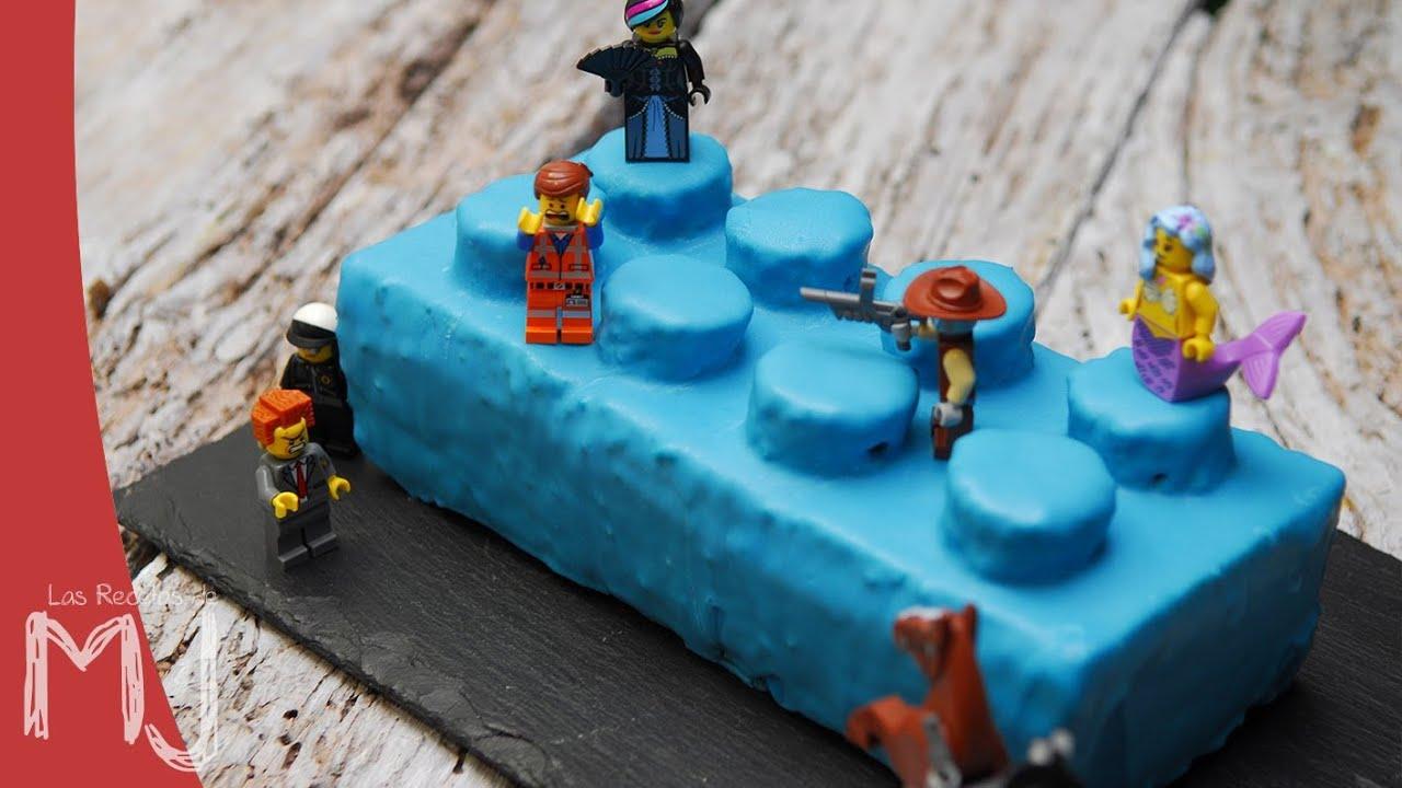 Tarta Lego La Lego Pel 205 Cula Bizcocho De Naranja