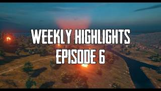 PUBG Xbox One | Weekly Highlights: Episode 6