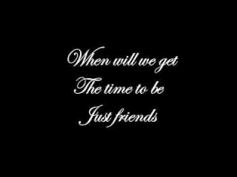 Amy Winehouse - Just Friends (Lyrics)